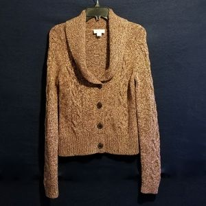 Ann Taylor Loft Chunky Cable Knit Sweater
